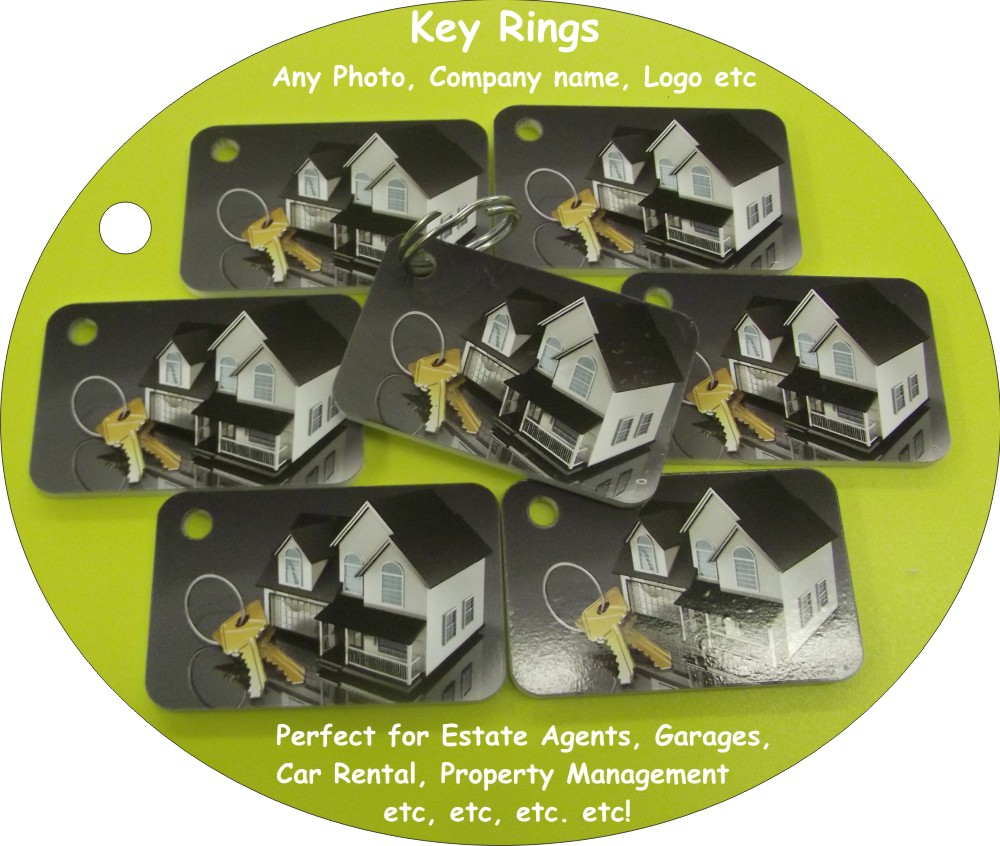 Estate Agents Keyrings