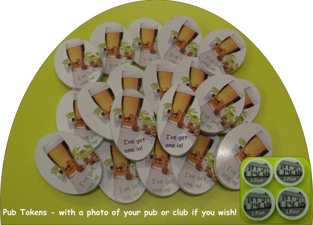 Pub Pint Tokens